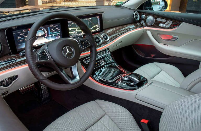 2018 Mercedes-Benz E 400 Coupe front interior