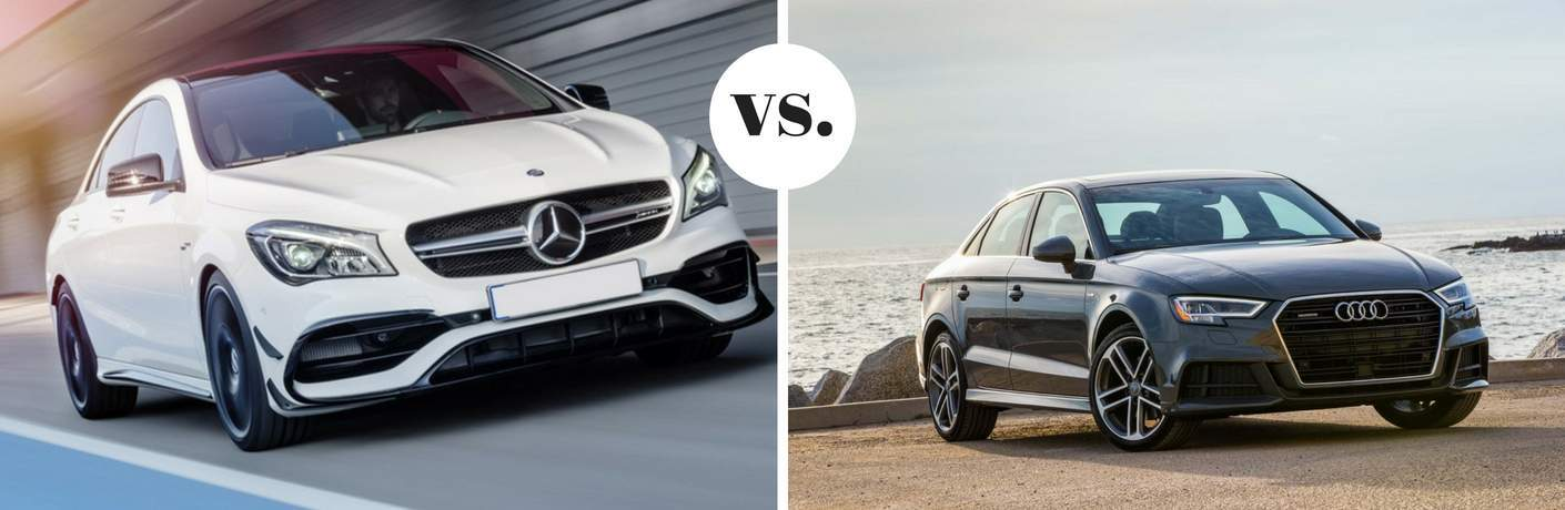 2018 Mercedes-Benz CLA vs 2018 Audi A3