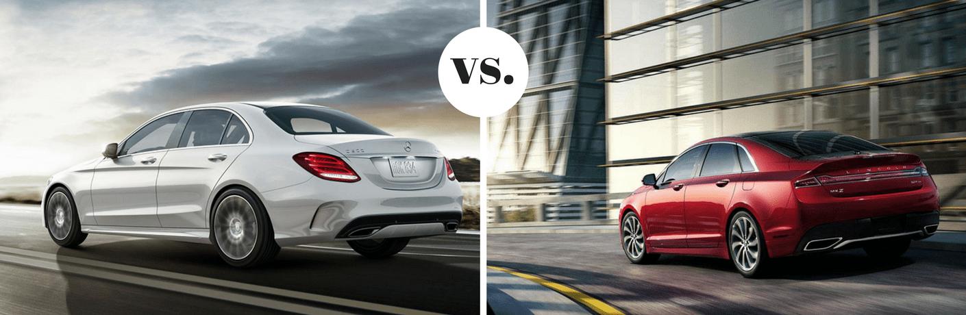 2019 Mercedes-Benz C 300 vs 2019 Lincoln MKZ