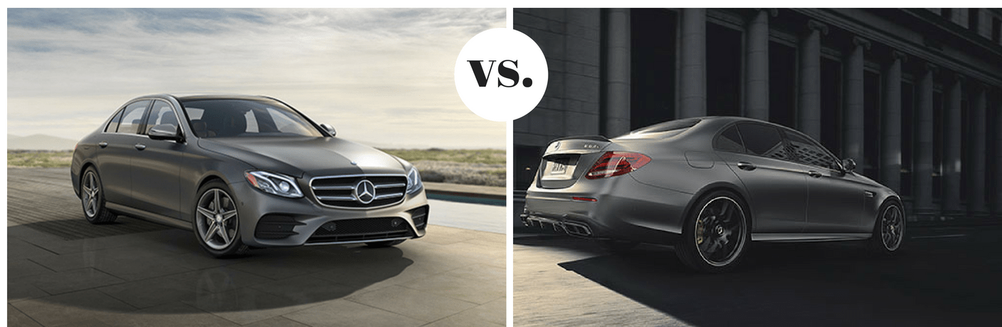 2018 Mercedes-Benz E 300 vs 2018 Mercedes-Benz AMG® E 63 S