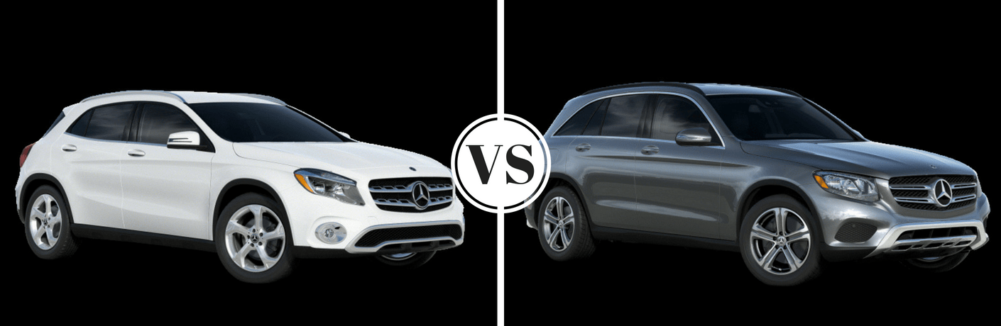 2018 Mercedes-Benz GLA 250 vs 2018 Mercedes-Benz GLC 300