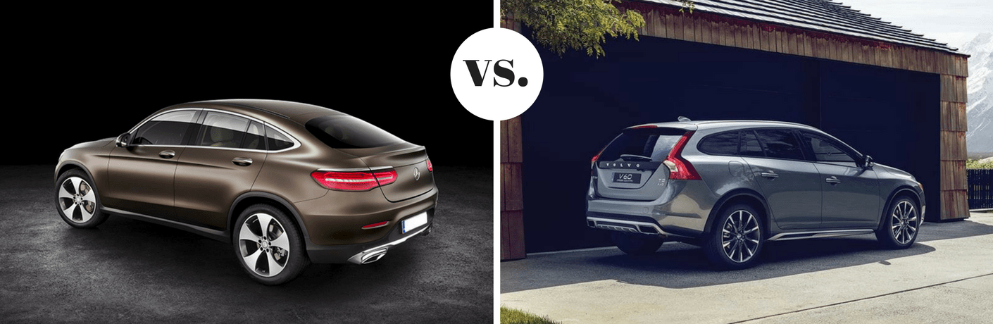 2018 Mercedes-Benz GLC 300 vs 2018 Volvo V60