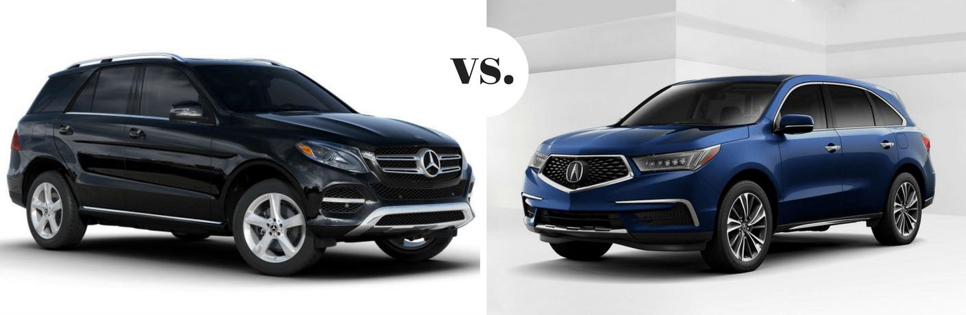 2020 Mercedes-Benz GLE vs 2020 Acura MDX