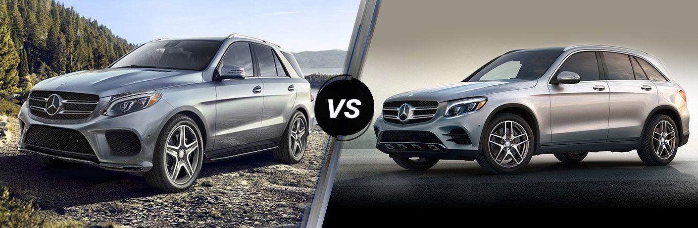 2018 Mercedes-Benz GLE vs 2018 Mercedes-Benz GLC