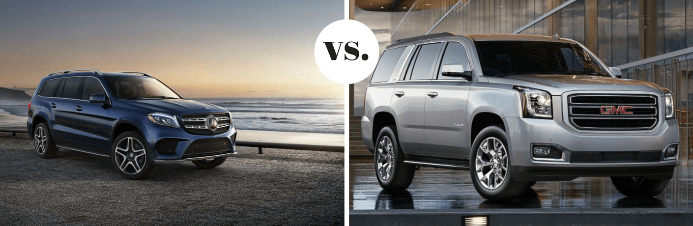 2018 Mercedes-Benz GLS 450 4MATIC® vs 2018 GMC Yukon Denali 4WD