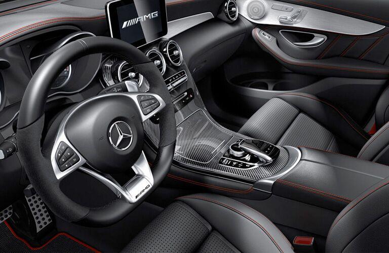2019 Mercedes-Benz AMG® GLC 43 front interior