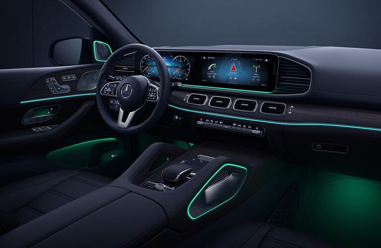 2019 Mercedes-Benz AMG® GLE 63 S front interior