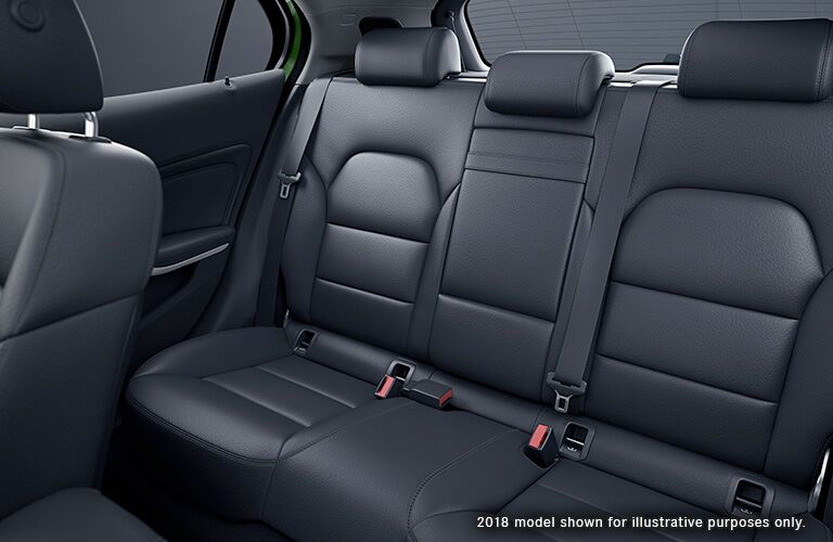 2019 Mercedes-Benz GLA 250 rear interior