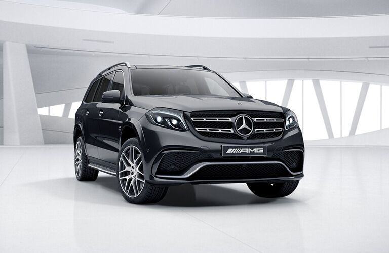 2019 Mercedes-Benz GLS 450 exterior profile