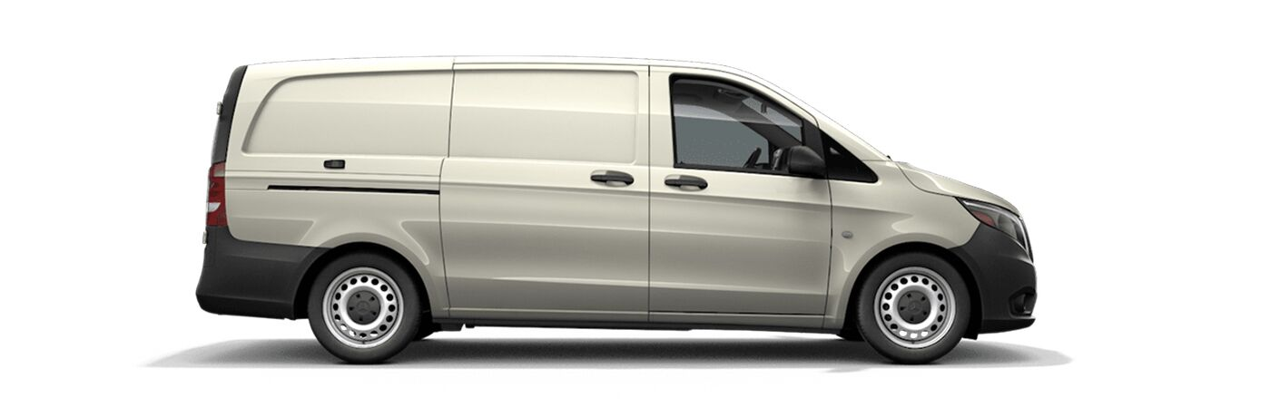 Mercedes-Benz Metris exterior profile