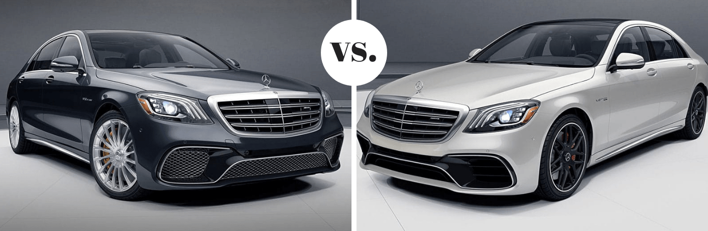 2019 Mercedes-Benz AMG® S 63 vs 2019 Mercedes-Benz AMG® S 65