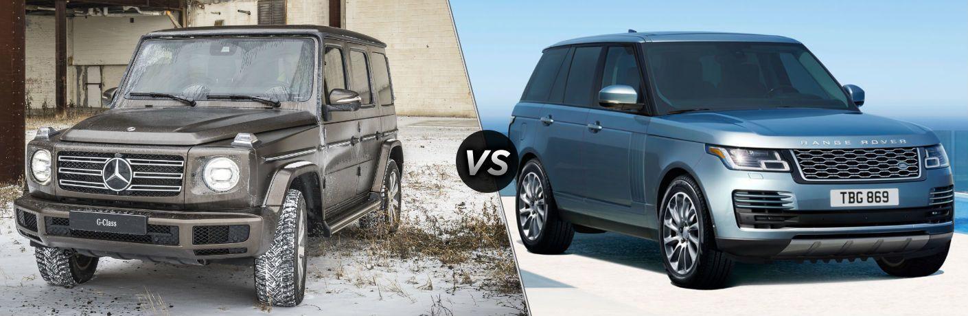 2019 Mercedes-Benz G-Class vs 2019 Land Rover Range Rover