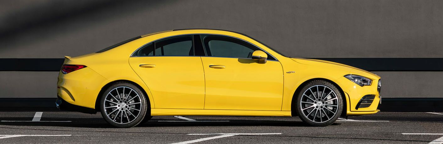 2020 Mercedes-Benz AMG® CLA 35 Coupe exterior profile