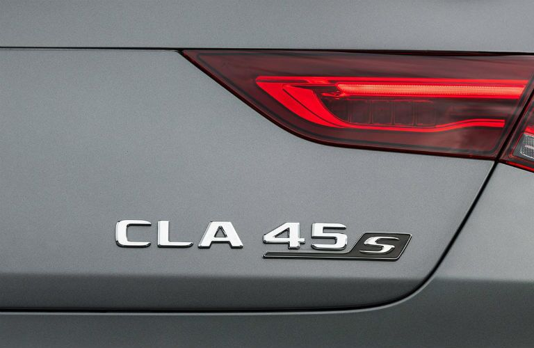 2020 Mercedes-Benz AMG® CLA 45 badge