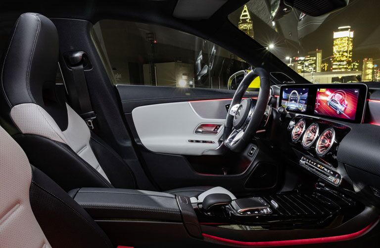 2020 Mercedes-Benz AMG® CLA 35 Coupe front interior