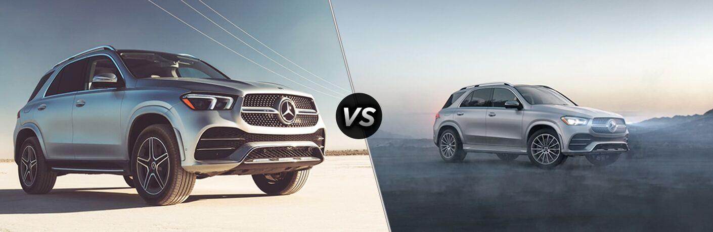 2020 Mercedes-Benz GLE 350 4MATIC® vs 2020 Mercedes-Benz GLE 580 4MATIC®