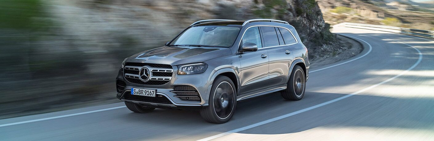 2020 Mercedes-Benz GLS on the road