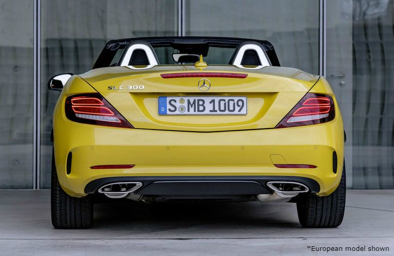 2020 Mercedes-Benz SLC rear exterior profile