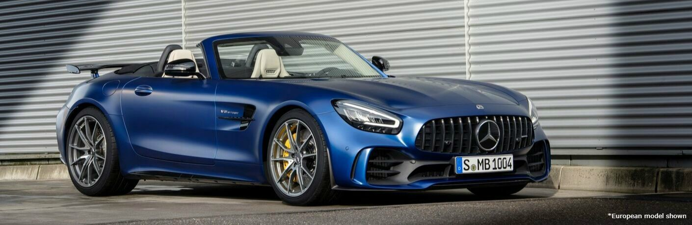 2020 Mercedes-Benz AMG GT Roadster exterior profile