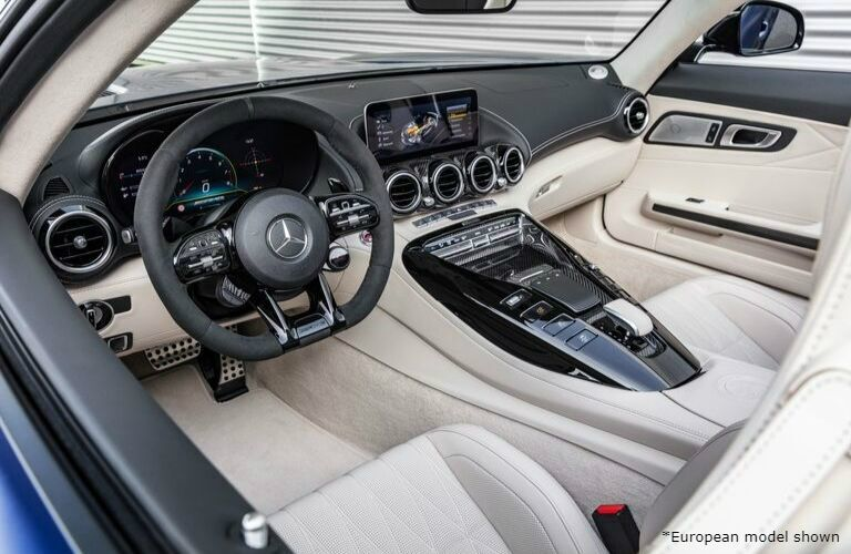 2020 Mercedes-Benz AMG GT Roadster front interior
