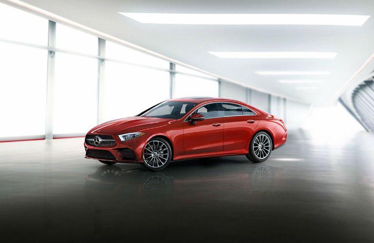 2020 Mercedes-Benz CLS exterior profile