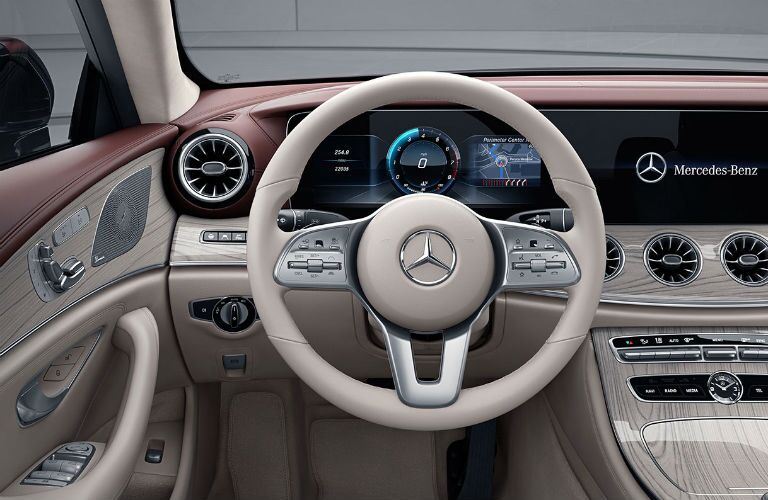 2020 Mercedes-Benz CLS front interior