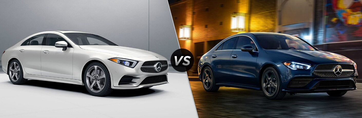 2020 Mercedes-Benz CLS vs 2020 Mercedes-Benz CLA comparison image