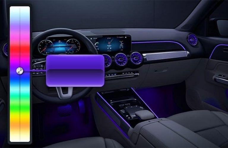 2021 GLB SUV Lighting system