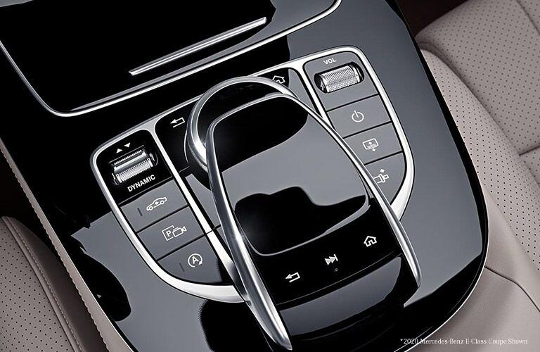 2021 Mercedes-Benz E-Class COMAND control