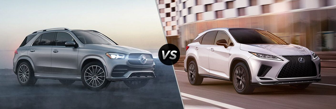 2021 Mercedes-Benz GLE SUV vs 2021 Lexus RX