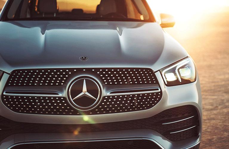 2021 Mercedes-Benz GLE SUV front fascia closeup