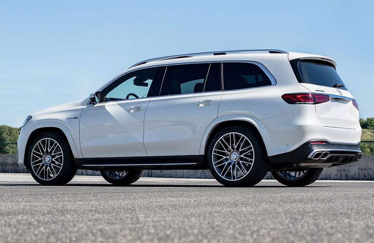 2021 Mercedes-Benz GLS in white