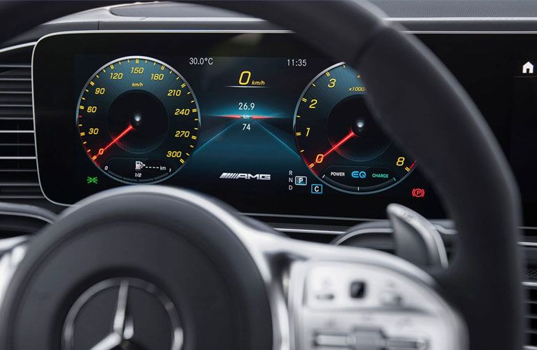 2021 Mercedes-Benz GLS instrumentation