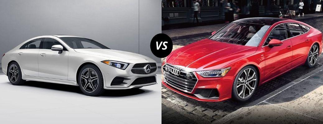 2021 Mercedes-Benz CLS vs 2021 Audi A7