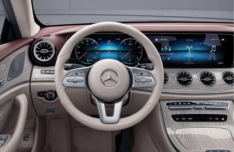 2021 Mercedes-Benz CLS front interior look
