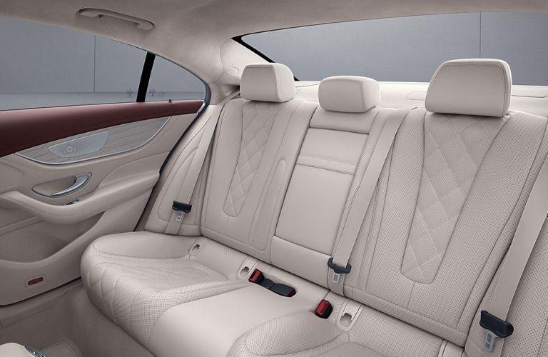 2021 Mercedes-Benz CLS rear interior