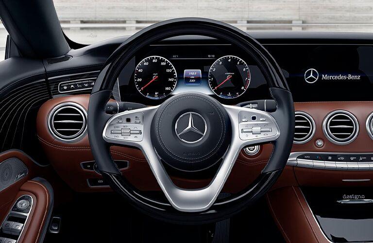 2021 Mercedes-Benz S-Class steering wheel