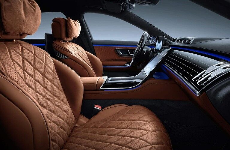 2021 Mercedes-Benz S-Class front seats