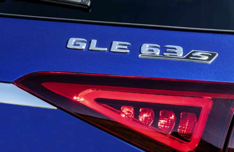 2021 Mercedes-Benz AMG® GLE 63 S exterior badge