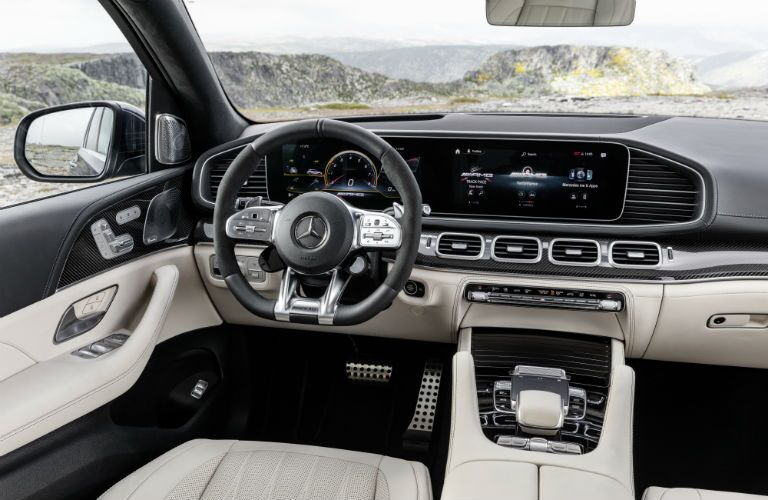 2021 Mercedes-Benz AMG® GLE 63 S front interior profile