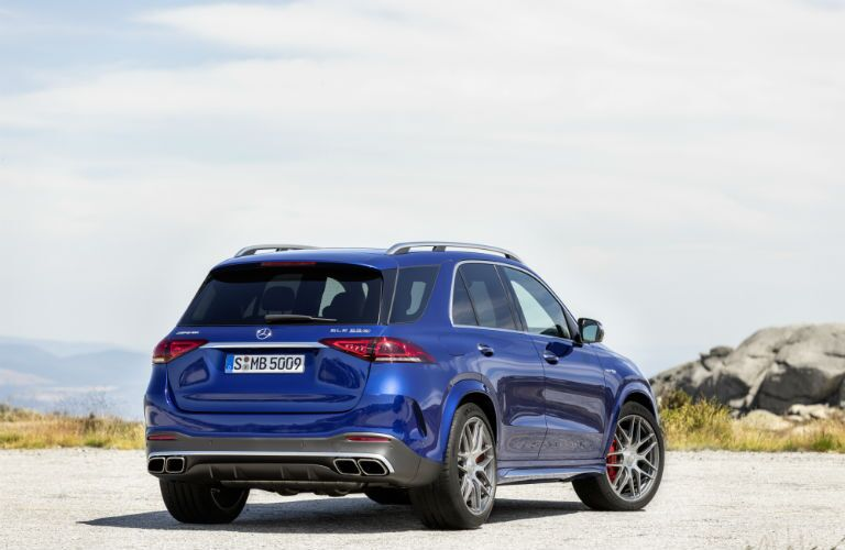 2021 Mercedes-Benz AMG® GLE 63 S rear exterior profile