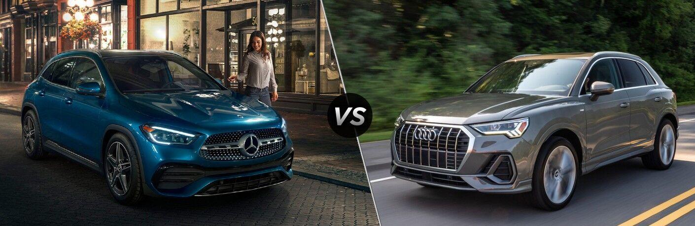 2021 Mercedes-Benz GLA vs 2021 Audi Q3