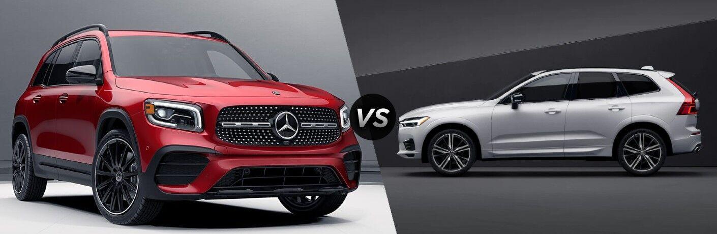 2021 Mercedes-Benz GLB vs 2021 Volvo XC60