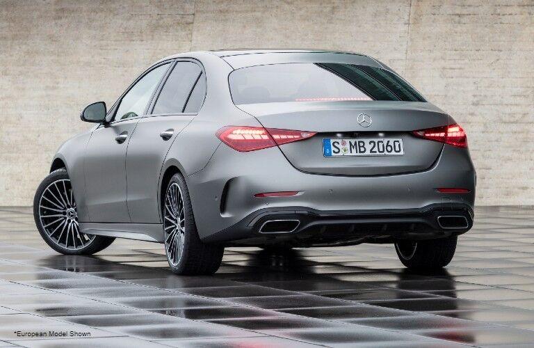 2022 Mercedes-Benz C-Class rear view