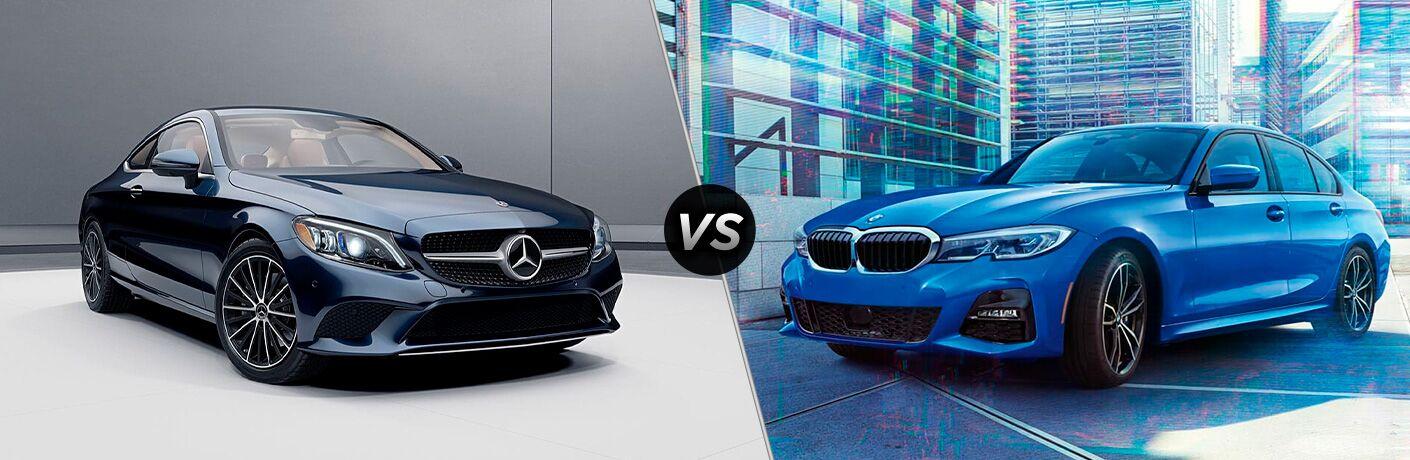 2022 Mercedes-Benz C-Class vs 2021 BMW 3 Series