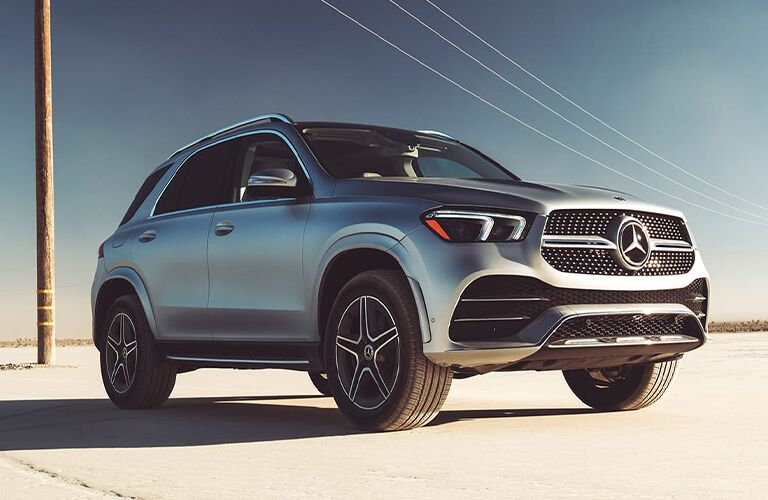 2022 Mercedes-Benz GLE Front