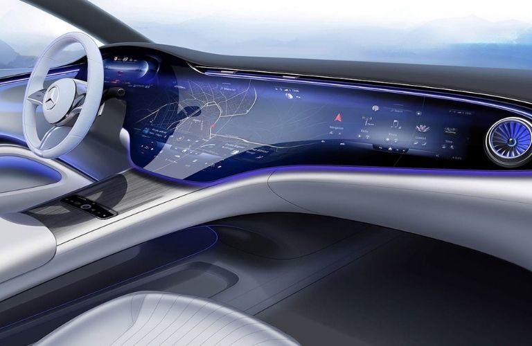 2022 Mercedes-Benz EQS Interior Dashboard