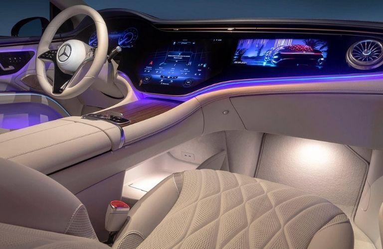 2022 Mercedes-Benz EQS Dashboard