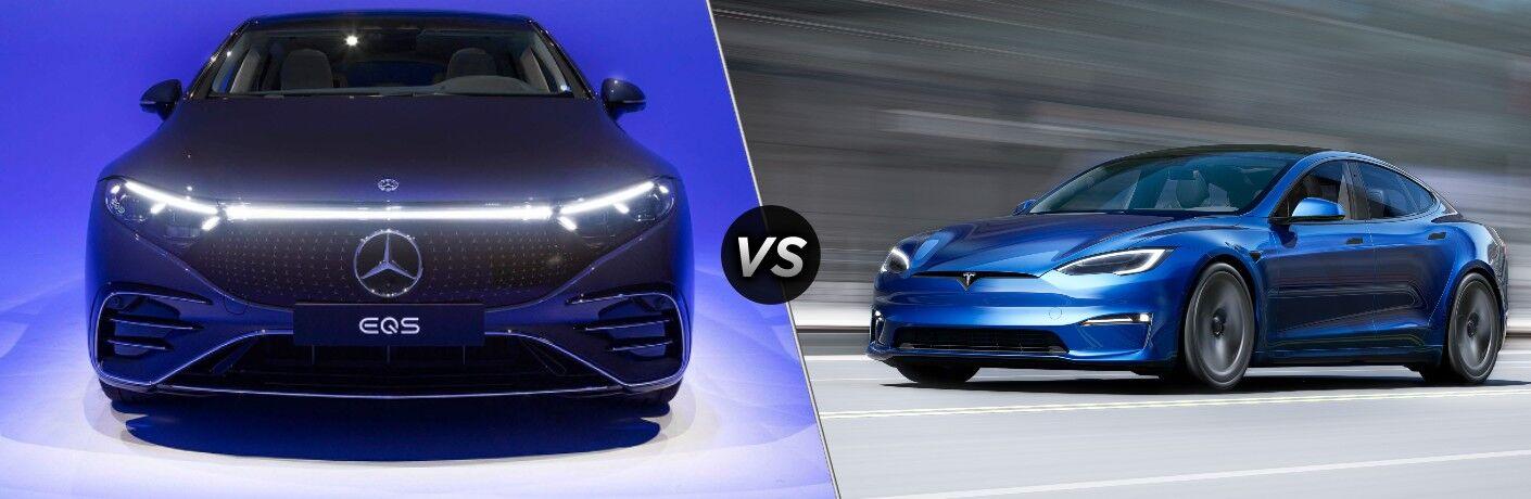 2022 Mercedes-Benz EQS vs 2022 Tesla Model S