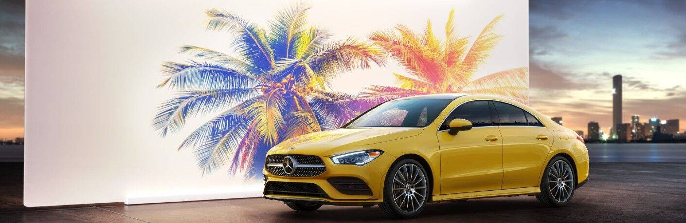 The 2021 Mercedes-Benz CLA 250 4MATIC® Coupe in Indianapolis, IN.